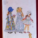 Simplicity 5996 vintage 1973 Holly Hobbie Fashion pattern for girls' dresses, size 6