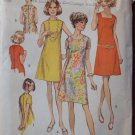 Simplicity 8882 vintage 1970 pattern for dresses with three necklines, bust 40""