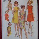 Simplicity 8882 vintage 1970 pattern for dresses with three necklines, bust 36""