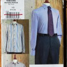 Vogue v8096 or 8096 pattern men's button down business shirts sizes 40-44