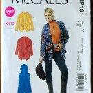 McCall's Mp491 pattern xs-med elfin fairywear, yoga jackets vests Southwestern, Lagenlook