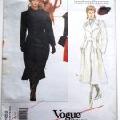 Vogue Paris Original 1652 Yves Saint Laurent 1995 coat pattern modeled by Linda Evangelista