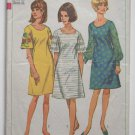 Transfer only of Simplicity 6997 vintage 1967 dress pattern