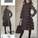 Vogue 1213 or v1213 pattern Koos Van Der Akker coat reminiscent of Memphis ceramics size 14-20