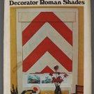 Butterick vintage 3177 Decorator Roman Blinds pattern. Missoni-esque chevron style