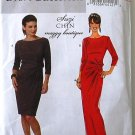Butterick b5675 or 5675 Suzi Chin Maggy Boutique dress pattern size 8-14.