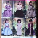Simplicity 2768 pattern, 18 inch doll costumes by Carpatina Dolls. Princess, Medieval, Renaissance