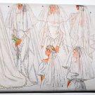 1980s Butterick 4649 bridal wedding veils pattern