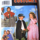 Simplicity Costumes 8318 Renaissance or Medieval costumes, kids' sizes 3-8, uncut