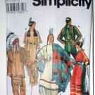 Simplicity 9142 pattern for Native American Costumes by Andrea Schewe sizes xs-xl