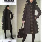 Vogue 1213 or v1213 pattern Koos Van Der Akker coat size 6-12