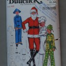 Butterick 5103 pattern for Santa, Jester, Chef & Asian outfit costumes.