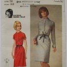 1960s Butterick 3851 Norma Tullo Slim Dress Pattern Australian Designer dress