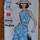 Vintage Vogue 7544 A-line dress Very Easy Cut 1969 bust 34