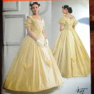 Simplicity 2881 pattern Museum Curator Kay Gagney 19th Century costume gown
