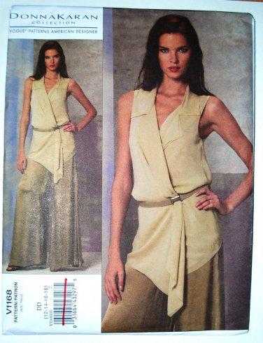 Vogue 1168 Donna Karan Collection loungewear, summer pattern sizes 12-18