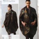 Vogue v1332 or 1332 Pamella Roland Avant Garde pea pod coat pattern sizes 6-14