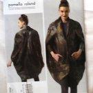 Vogue v1332 or 1332 Pamella Roland Avant Garde pea pod coat pattern sizes 14-22
