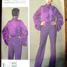 Vogue 1416 or v1416 Guy Laroche blouse and pants pattern sizes 6-8-10-12-14