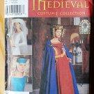 Simplicity 8728 cape & headpieces Medieval costume pattern, uncut