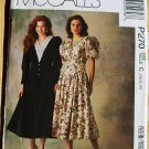 McCall's P270 or 270 vintage 1990s pattern for prairie or Gunne Sax style dresses