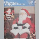 Vogue 7321 Santa doll pattern, 29 to 49 inches designed by Linda Carr