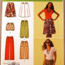 Simplicity 2367pattern for cute pants, shorts, skirts. Knickers type styles. Sizes 6-14