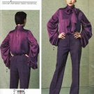 Vogue 1416 or v1416 Guy Laroche blouse and pants pattern sizes 14-16-18-20-22