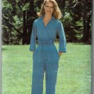 Vintage 1980s Sew & Sew by Butterick pattern 5837 wrap jumpsuit size 16 bust 38