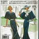 Simplicity 9360 pattern for 60th Anniversary dress sizes 14,16,18,20