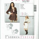 Burda 7449 Lagenlook style cowl neck dress or tunic pattern Misses' sizes 8 to 18