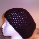 Crochet Medium Black Hat