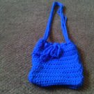 Crochet Small Blue handbag