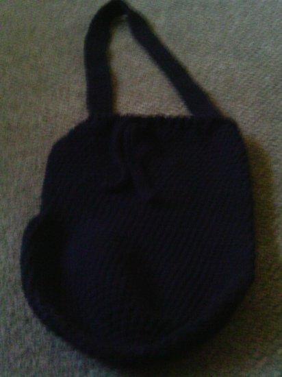 Crochet Large Black handbag