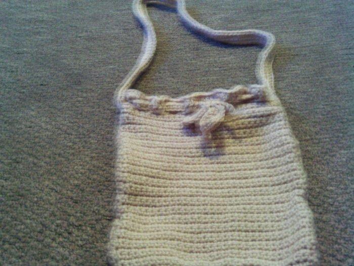 Crochet Small light Brown Pancho