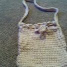 Crochet Small light Brown Pancho