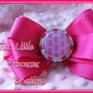 Breast Cancer Ribbon Bow