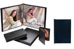 Superior Mount Album in Black, 4x6 - 10 pages