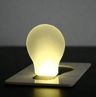 $0.99/Portable Pocket LED Card Light Lamp put in Purse