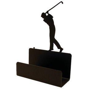 Golfer Business Card Holder