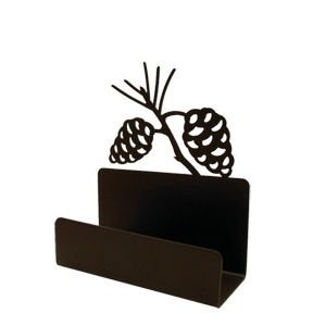 Pine Cone Business Card Holder