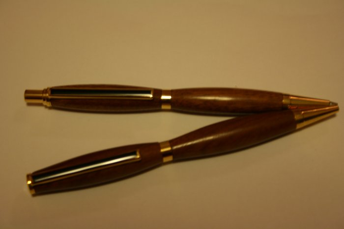 Handmade Wood Pen and Pencil Set