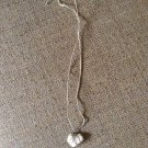 Small heart shell necklace