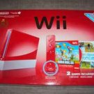 Brand new RED wii