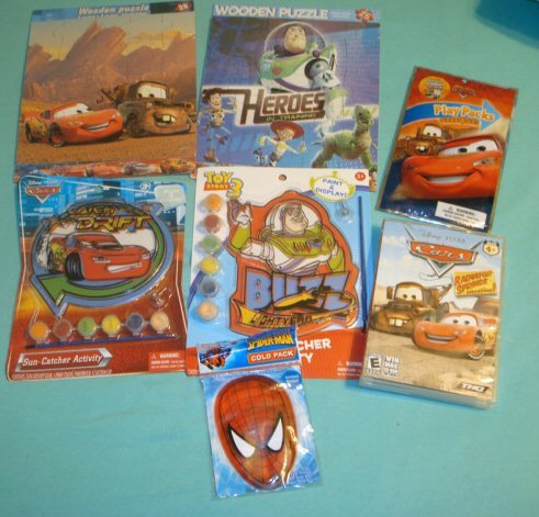 Disney Cars and Toy Story Gift Lot
