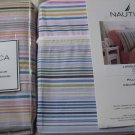 Nautica Langley Stripe Standard Pillow Shams New