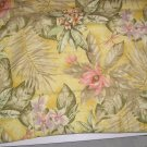 Croscill Tropical Bali Padded Standard Pillow Shams New
