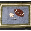 That's mine All State Sports Standard Pillow Sham Quilted New