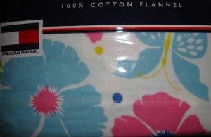 Tommy Hilfiger Malibu Flannel Twin Sheet Set  New