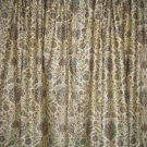 Custom Made Ralph Lauren Marrakesh Rug Drapes new